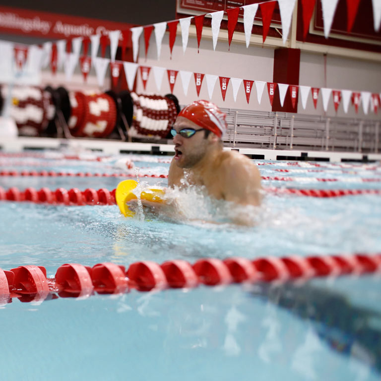 IU swimmer and Olympic athlete Cody Miller.